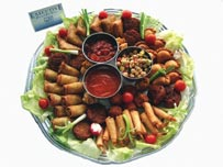 food platters for business lunches
