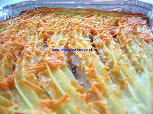Cottage pie catering