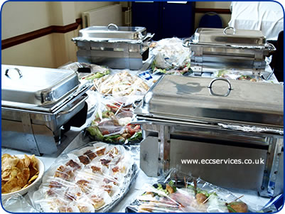 hot buffet food choices